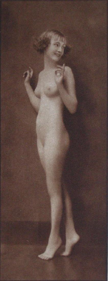 English Nude by E. O. Hoppe, London