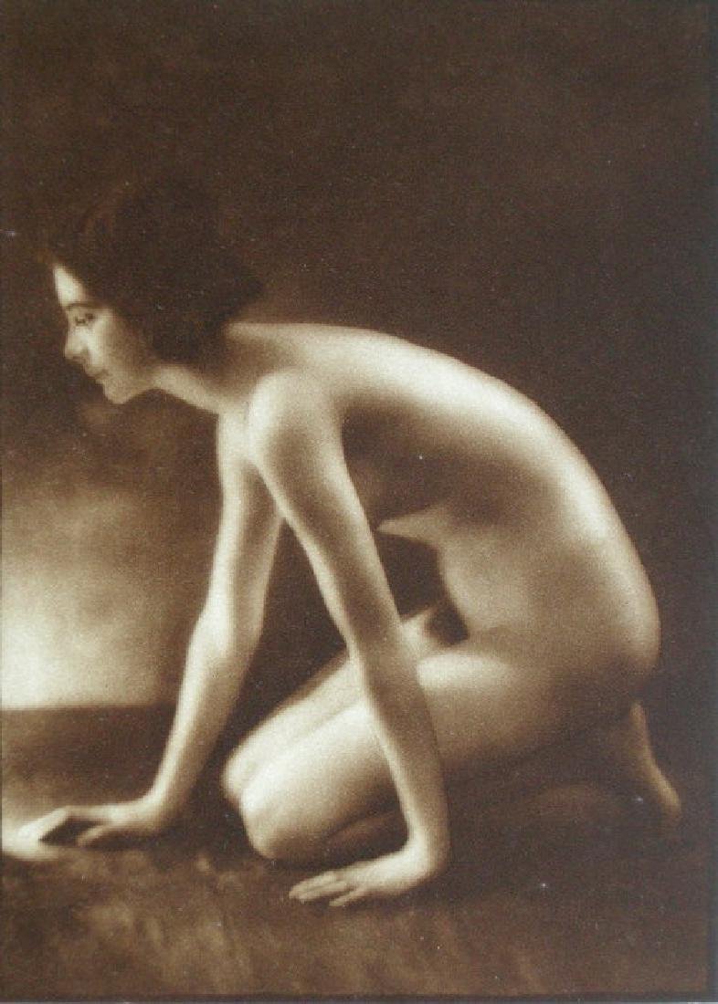 Scottish Nude by E. O. Hoppe, London