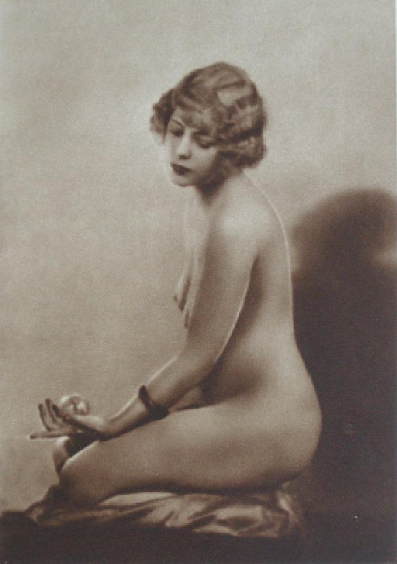 English Nude by E. O. Hoppe, London