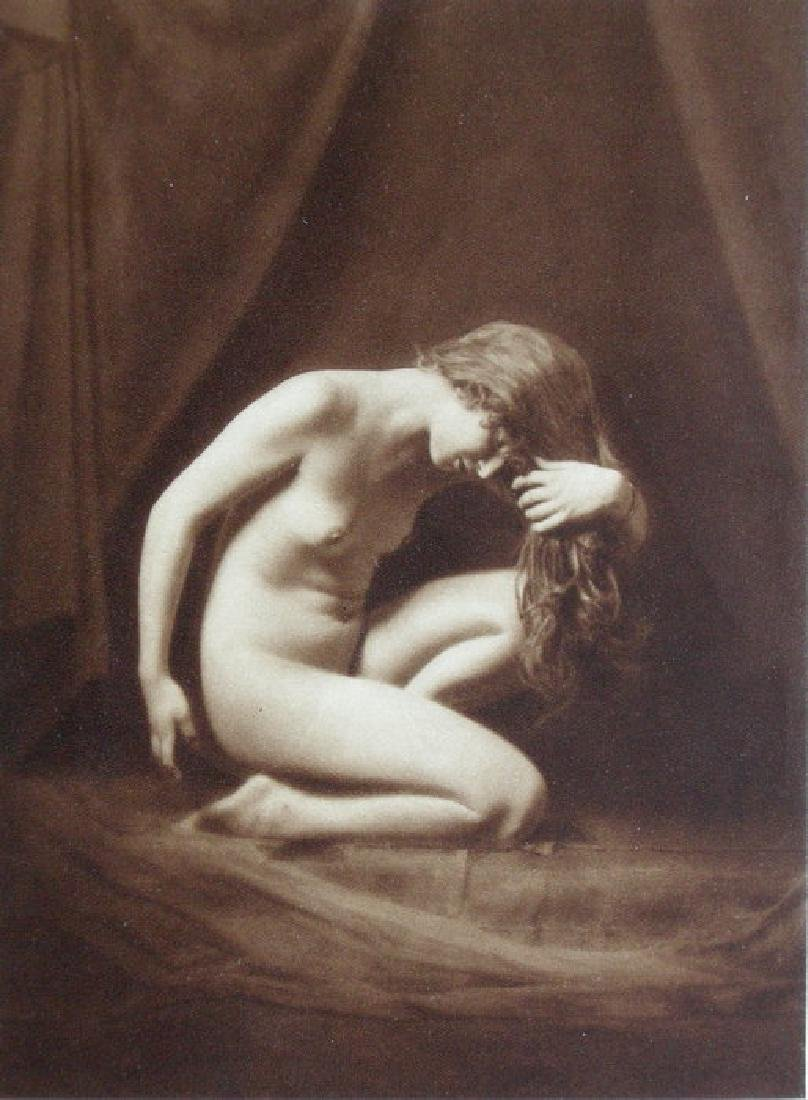Hungarian Nude by Prof. Jozsef Pecsi, Budapest
