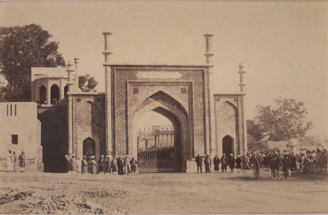 Northern Entrance to Peshawar City, Afghanistan. c1878