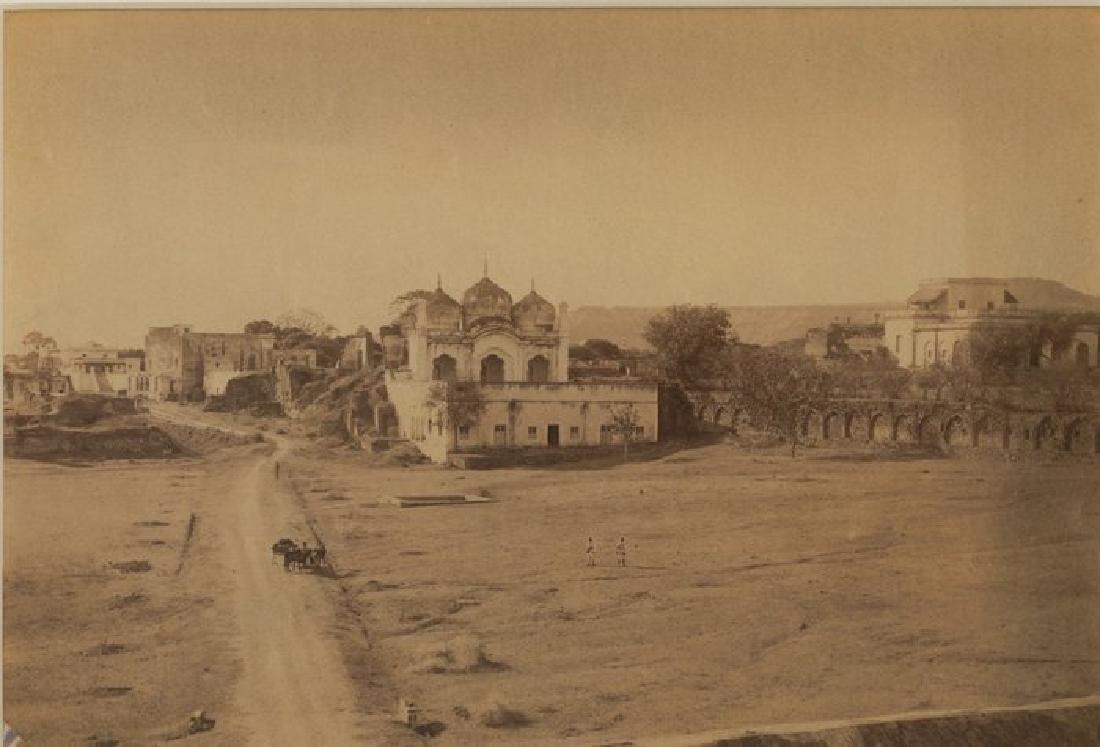 Benares - Alamgir Mosque. c1875