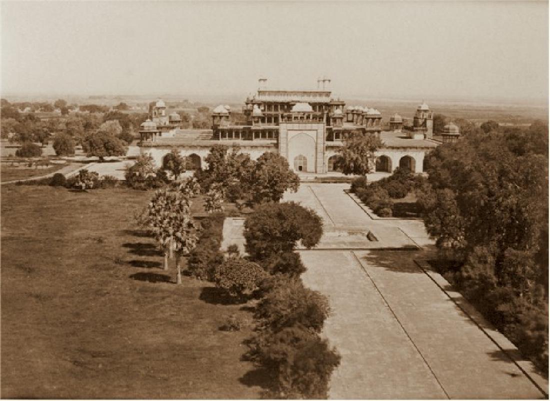 Tomb of Akbar, Secundra, India. c1865
