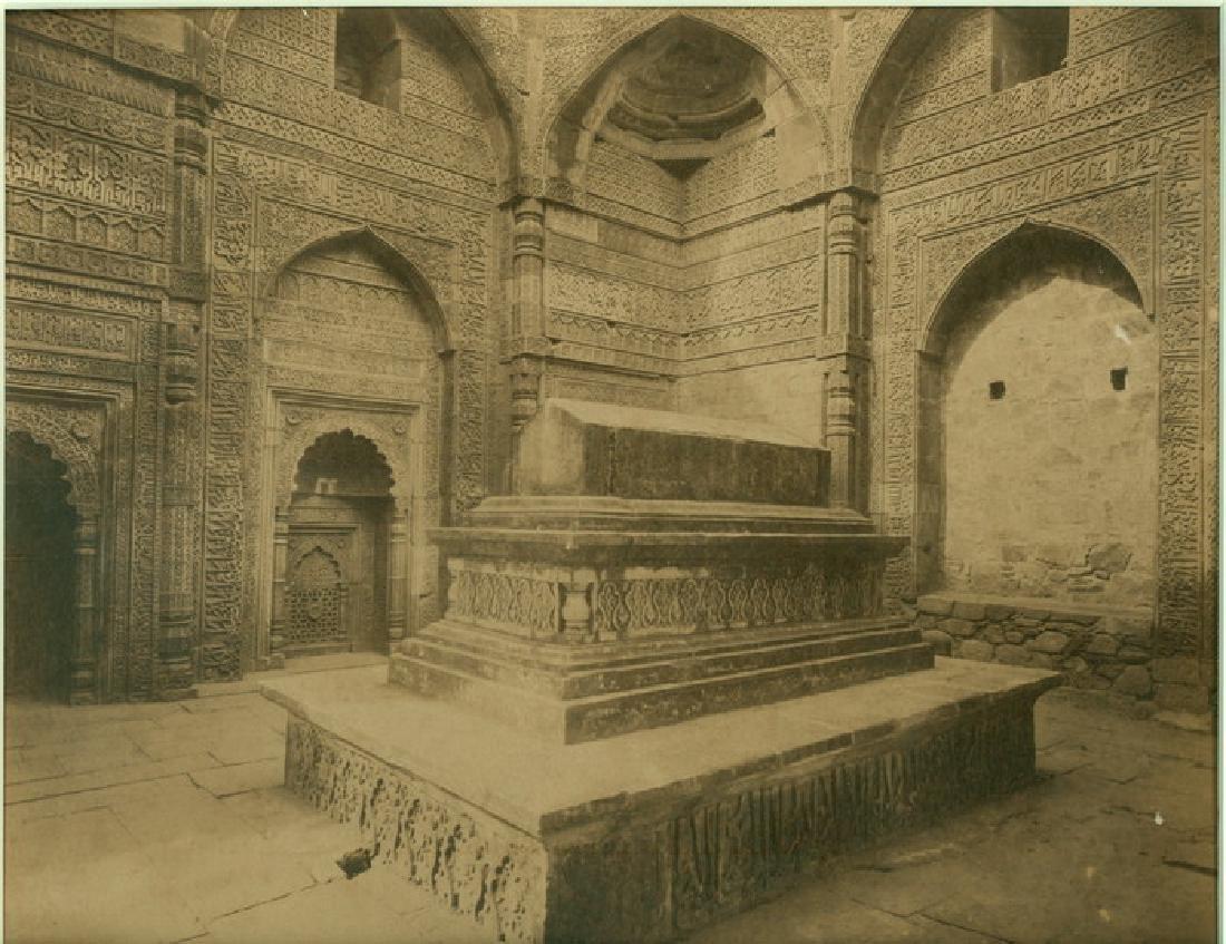 Tomb of Shamsuddin Altamash, Delhi. C1875