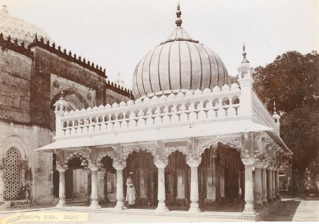 Nizamuddin's Tomb, Delhi. c1890