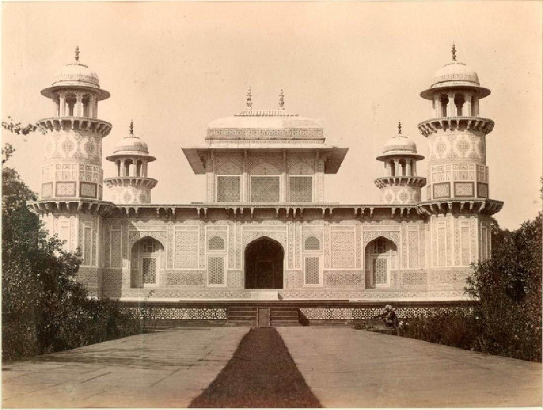 Mausoleum of Prince Etmad- Dowlah. C1880