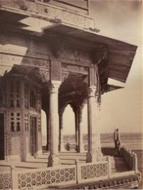 Agra - The Fort, Exterior of the Zanana. c1865