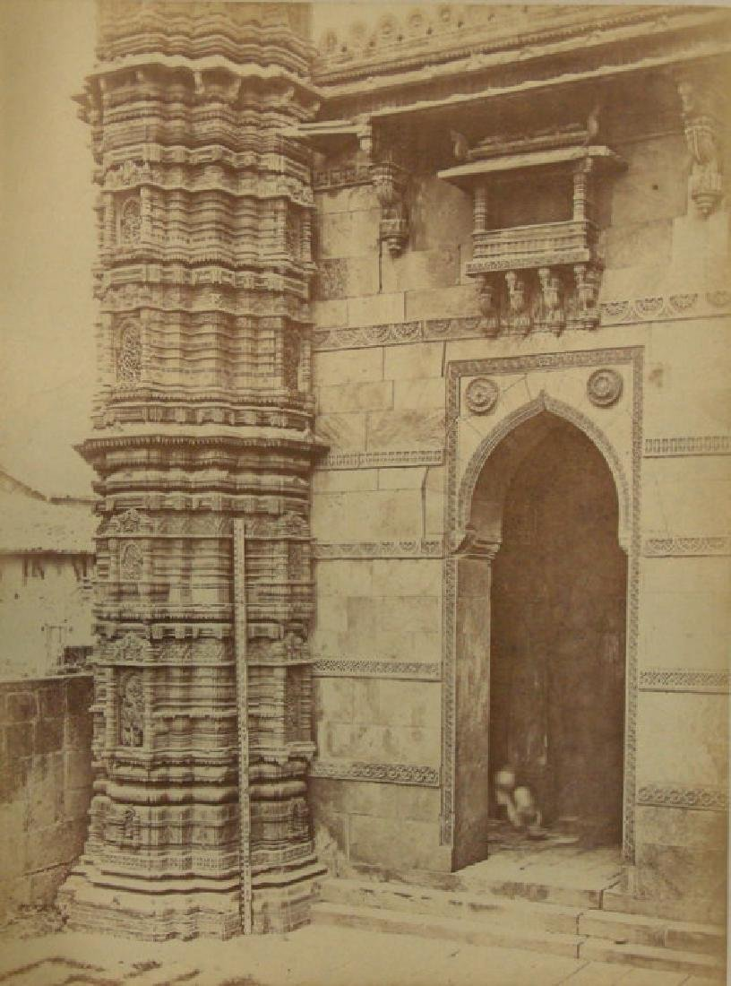 Moohafiz Khan's Mosque. c1866