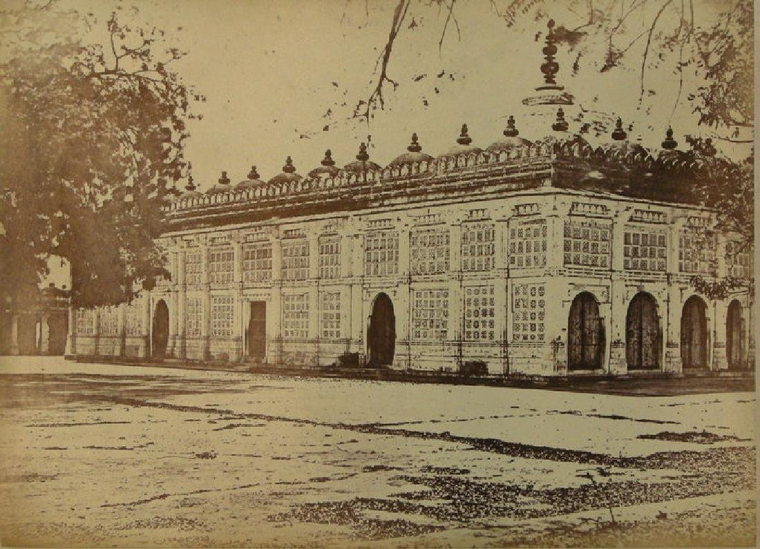 Shah Alum - The Mosque. c1866