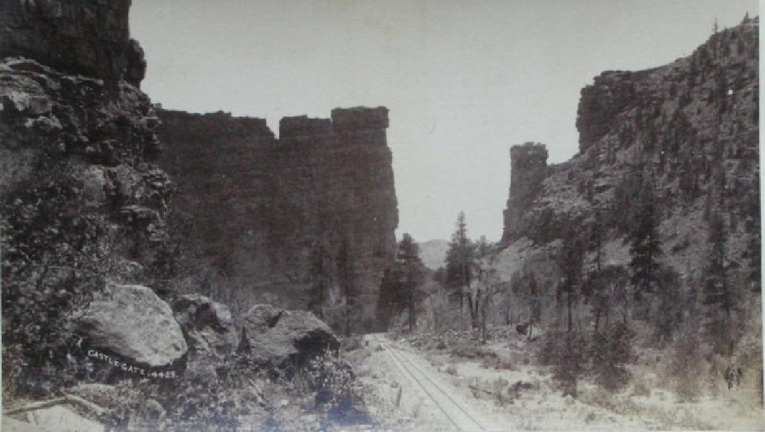Castle Gate, Utah. C1890.