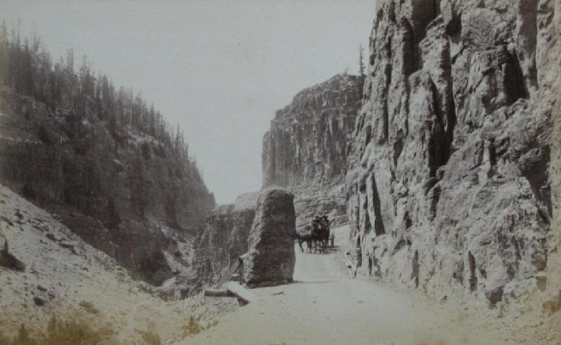 Yellowstone. C1890. By F. Jay Haynes.