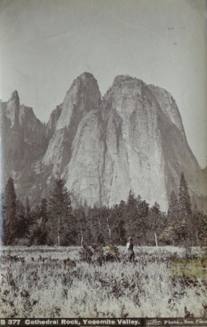 Cathedral Rock, Yosemite Valley. c1880