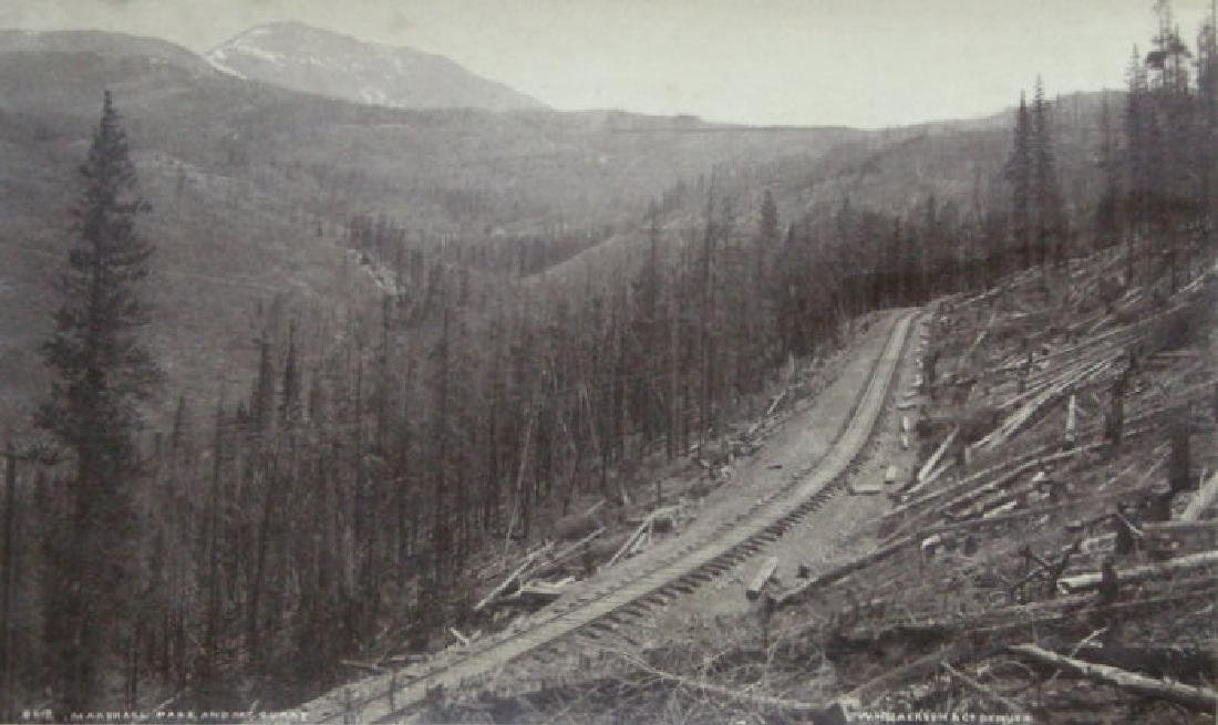 Marshall Pass and Mt. Ouray, CO. C1880