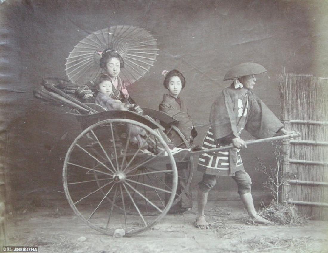 Jinriksha, Japan. c1890