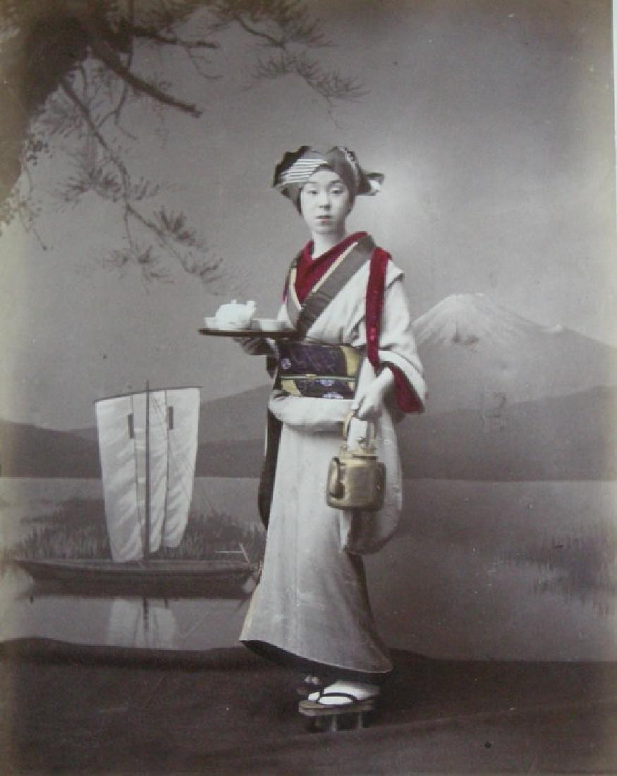 Japanese Servant. c1880