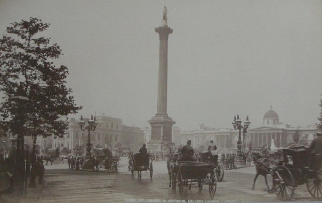 Trafalgar Square, London. c1890