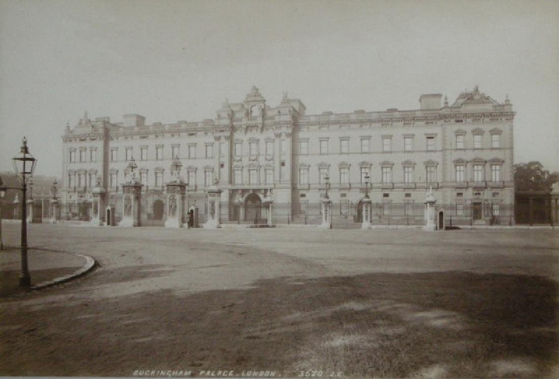 Buckingham Palace, London. c1890