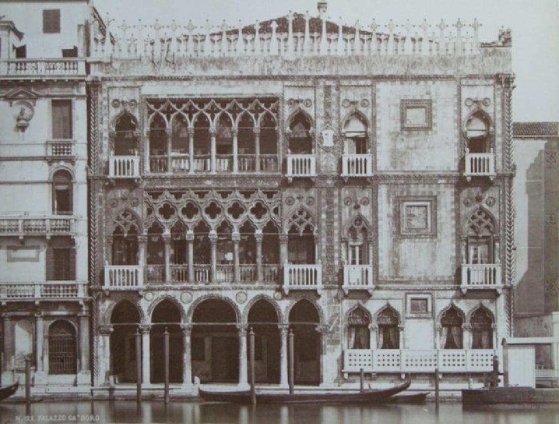 Palazzo Santa Sofia, Venice. C1880.