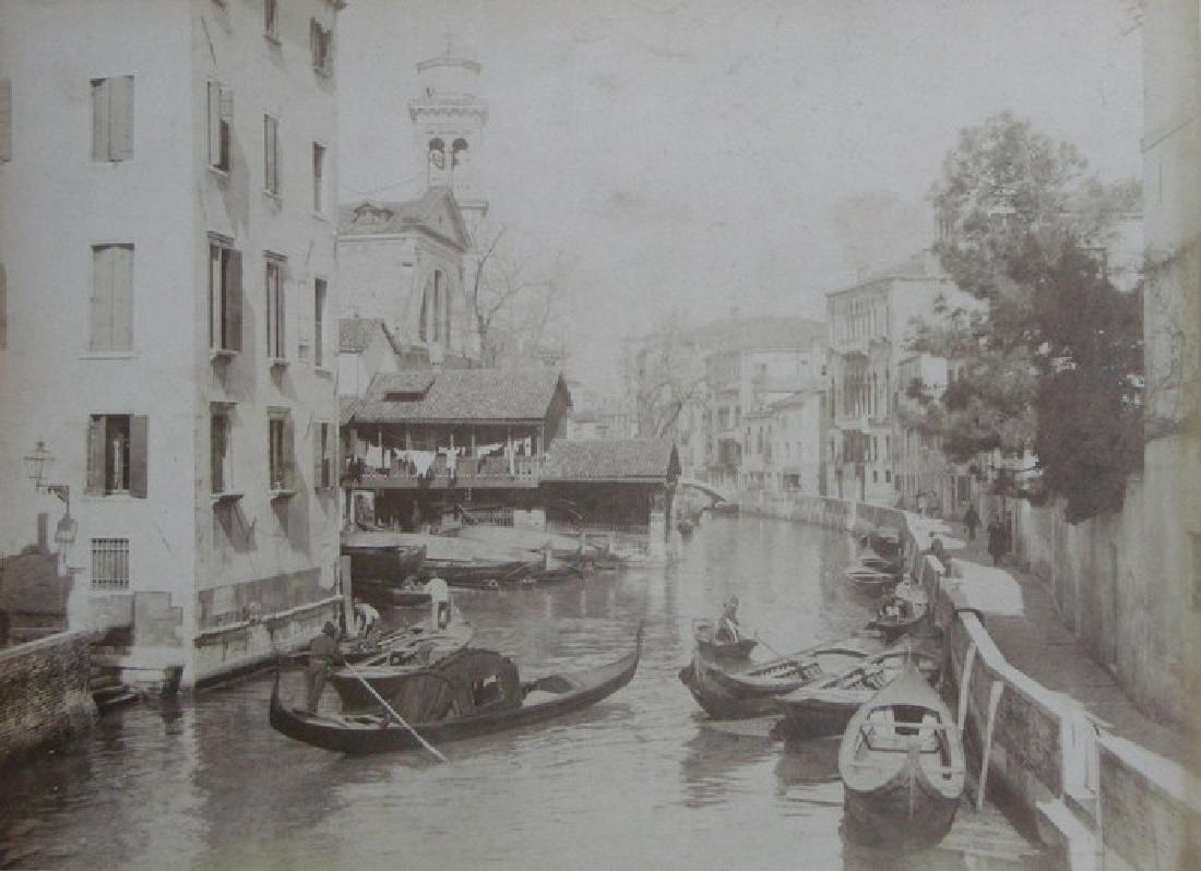 Venice Canal. c1880