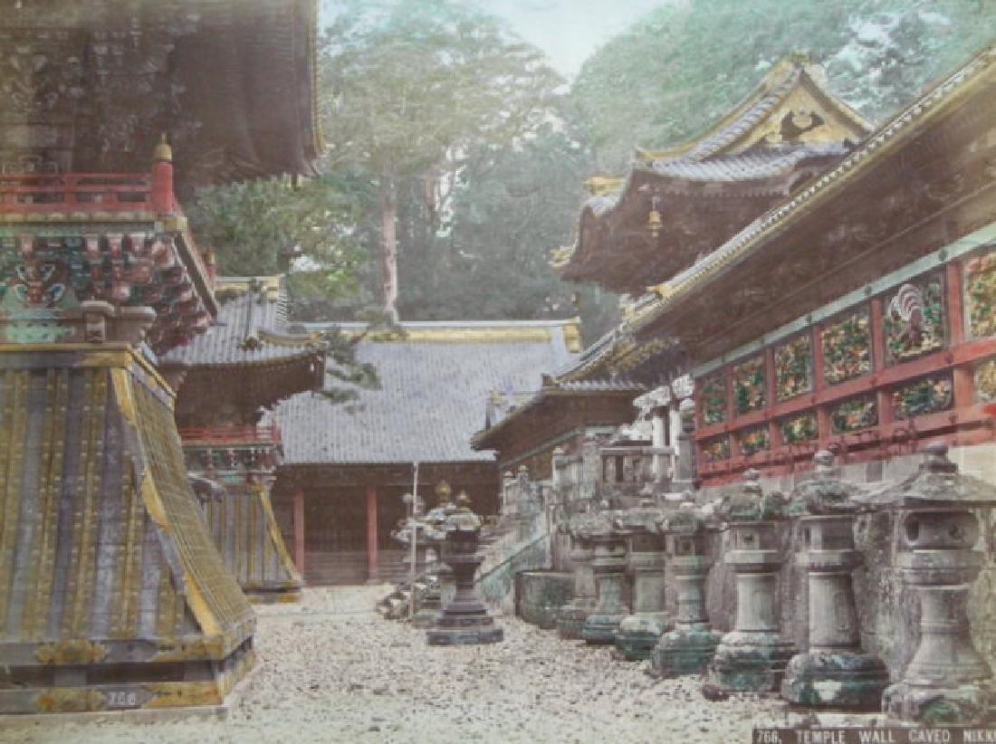 Temple Wall Carving, Nikko, Japan. c1895