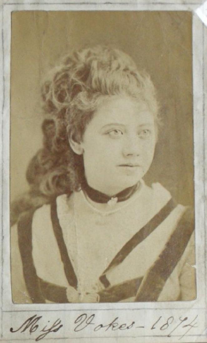 Miss Vokes of the Adelphi Theatre. C1874