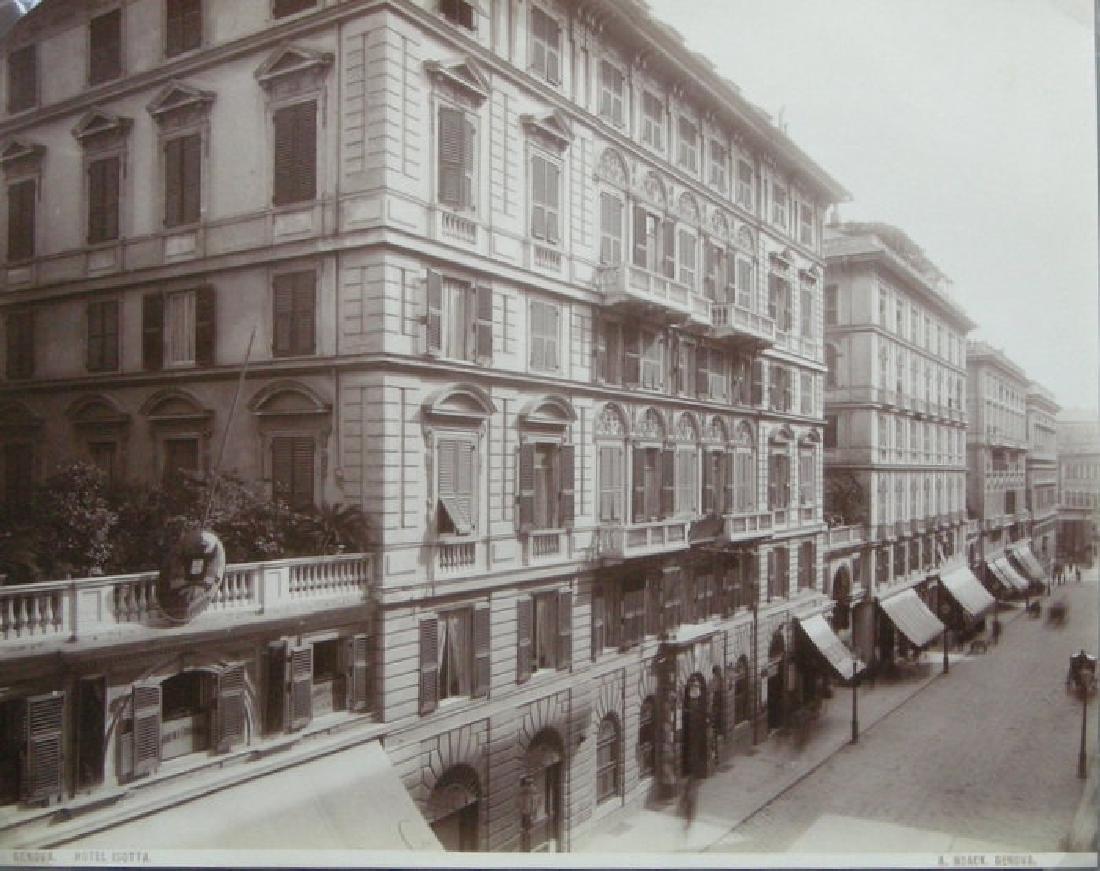 Hotel Isotta, Genoa. c1890
