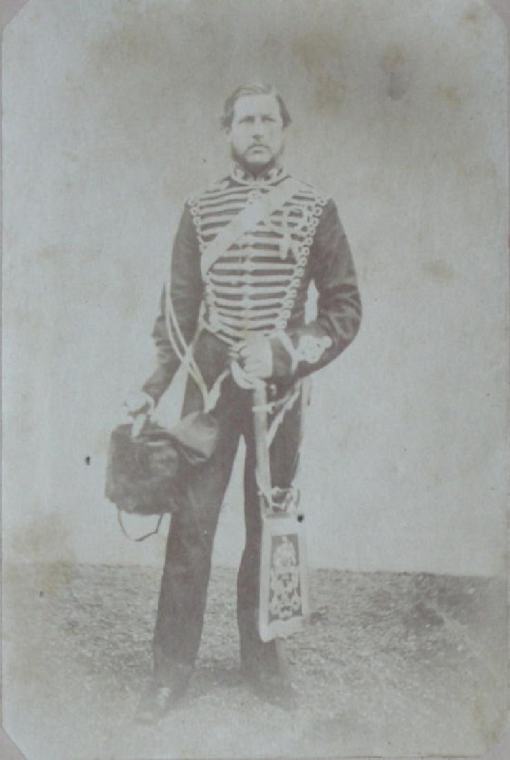 A Hussar. c1875