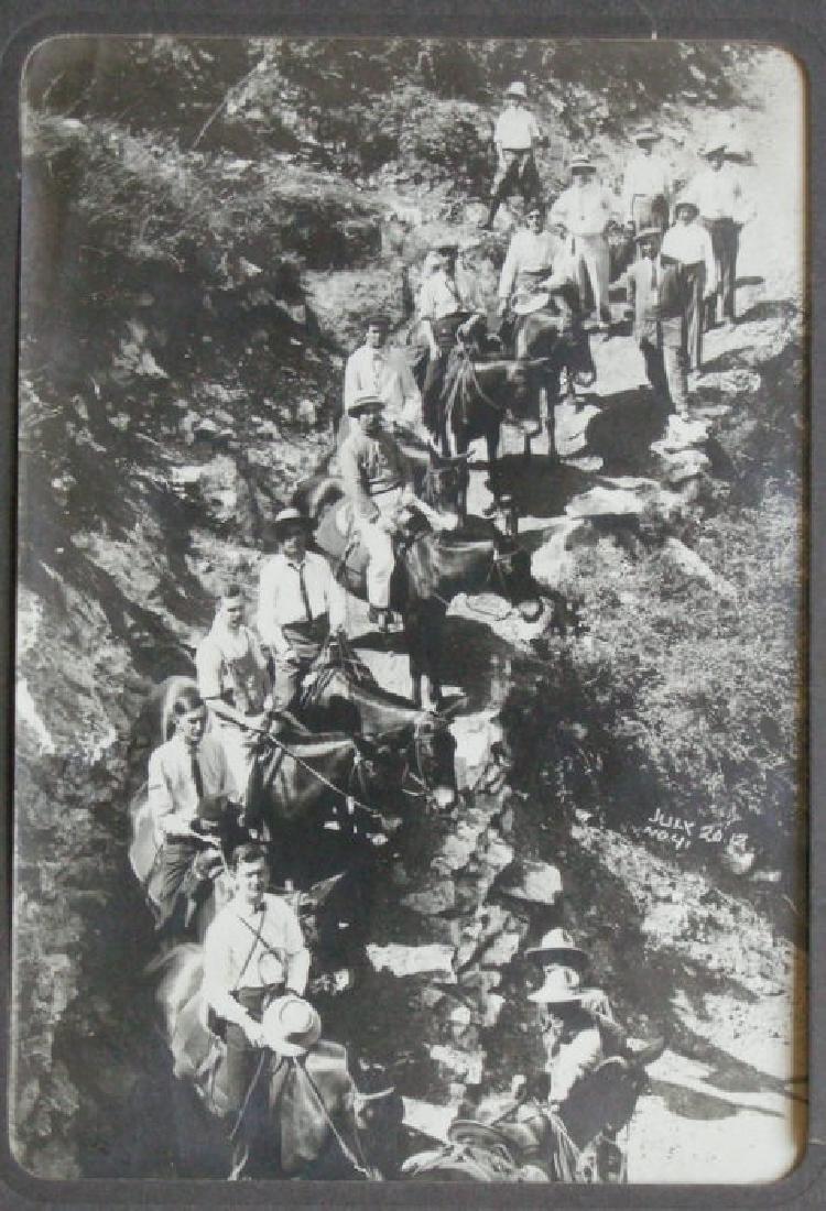 Grand Canyon Trail Group by Kolb. C1912.
