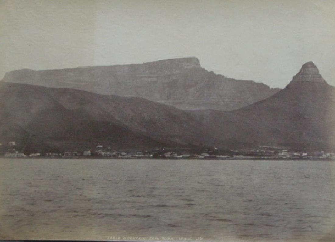 Cape Town and Table Mountain on a clear day. c1890