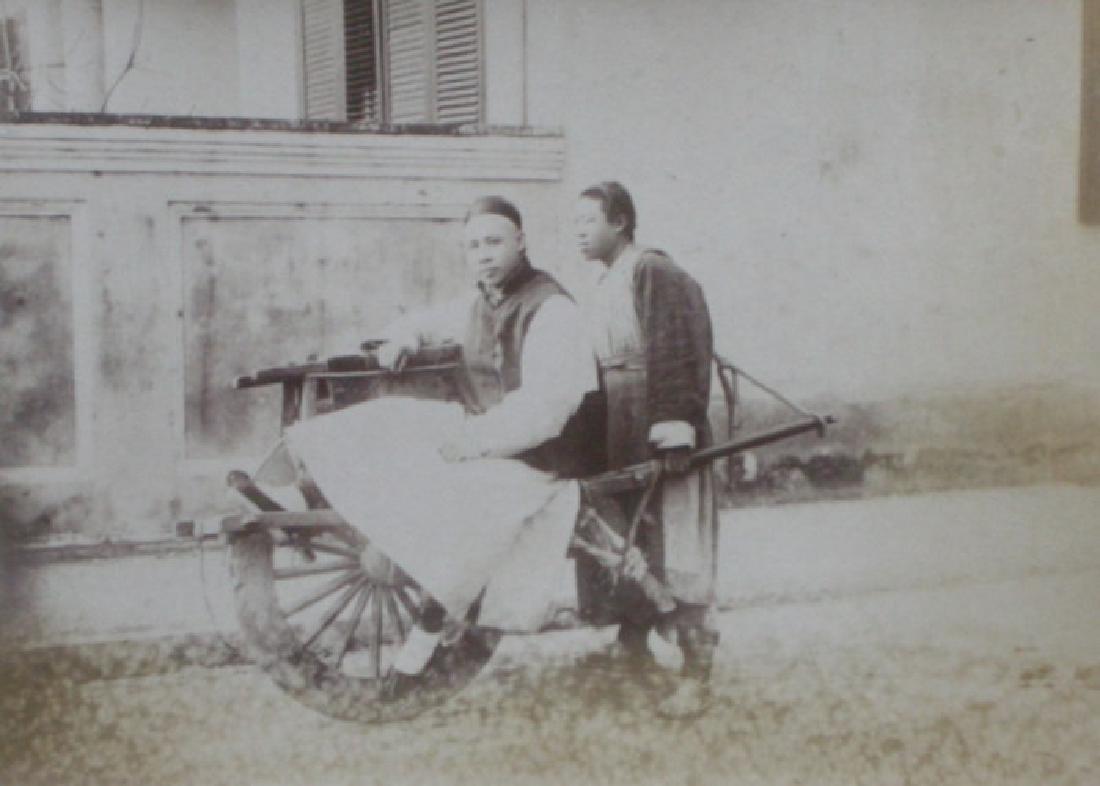 China - Wheelbarrow Transport. C1890.
