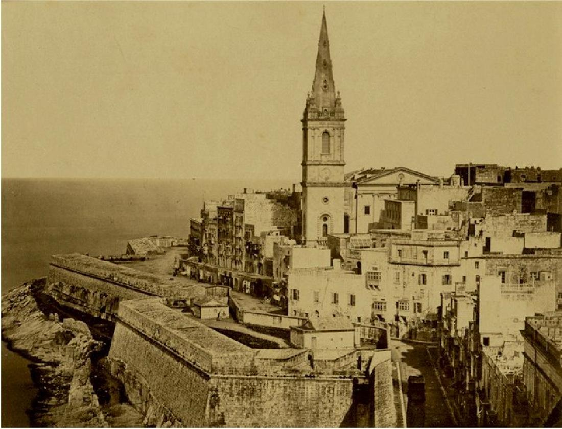 Harbour Scene in Malta, c1865