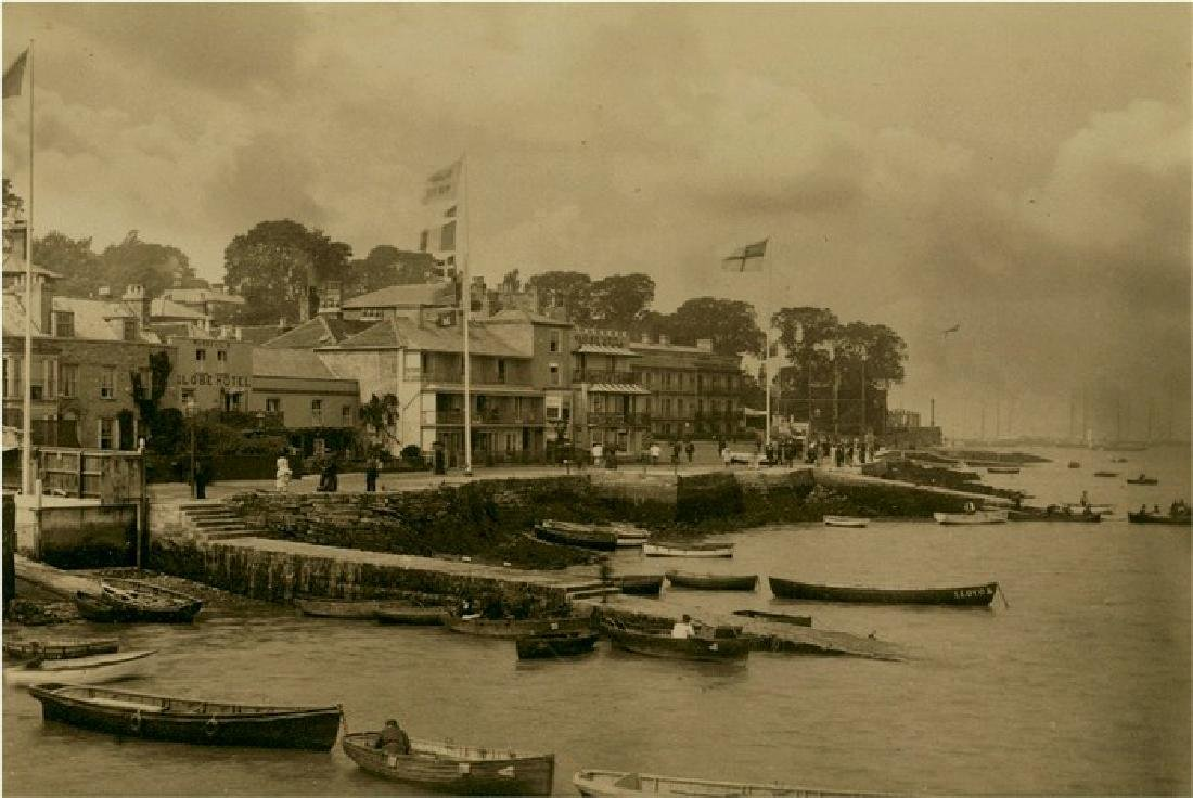 Marine Parade, Isle of Wight, England. c1890