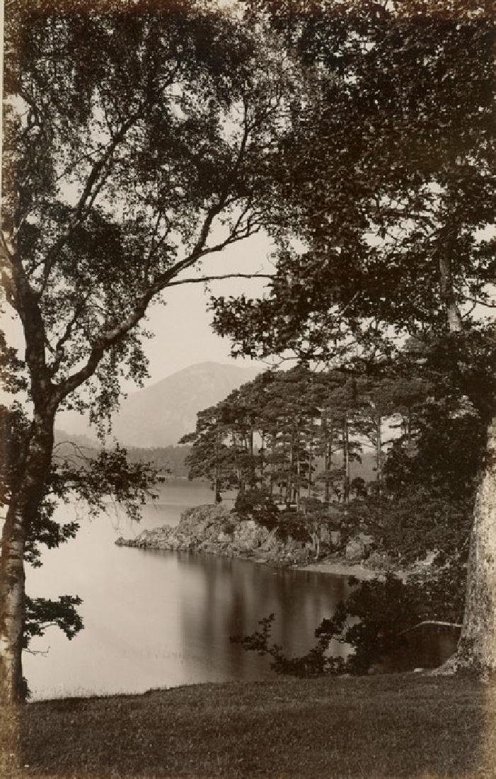 Friars Crag, Derwent Water, Lake District. c1882