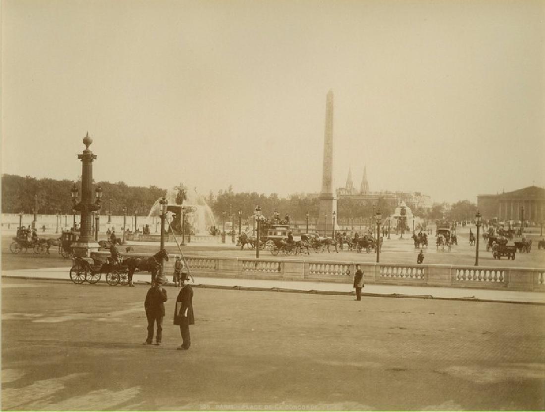 Paris Ð Place de la Concorde. c1875