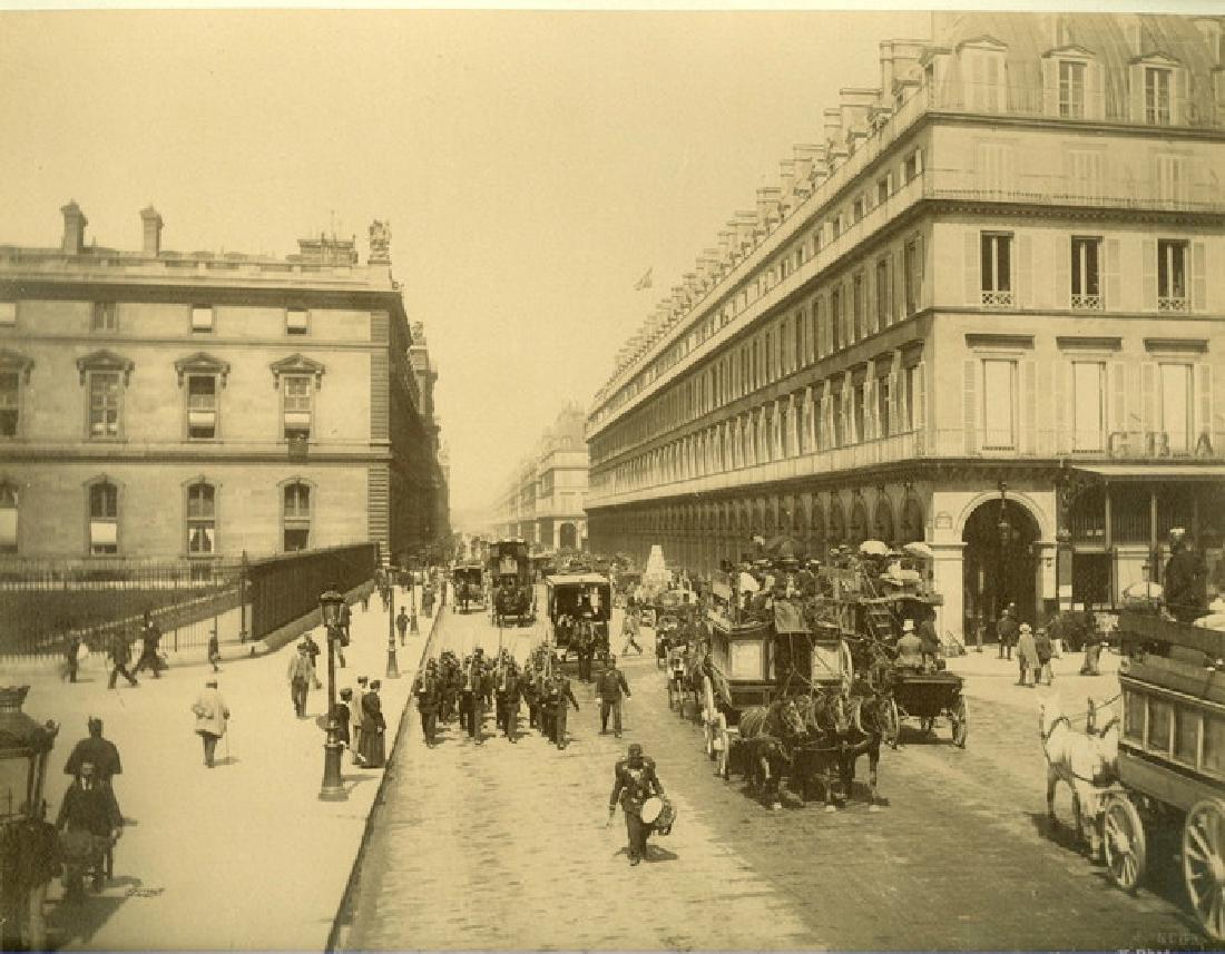 Paris Ð Rue de Rivoli. c1875