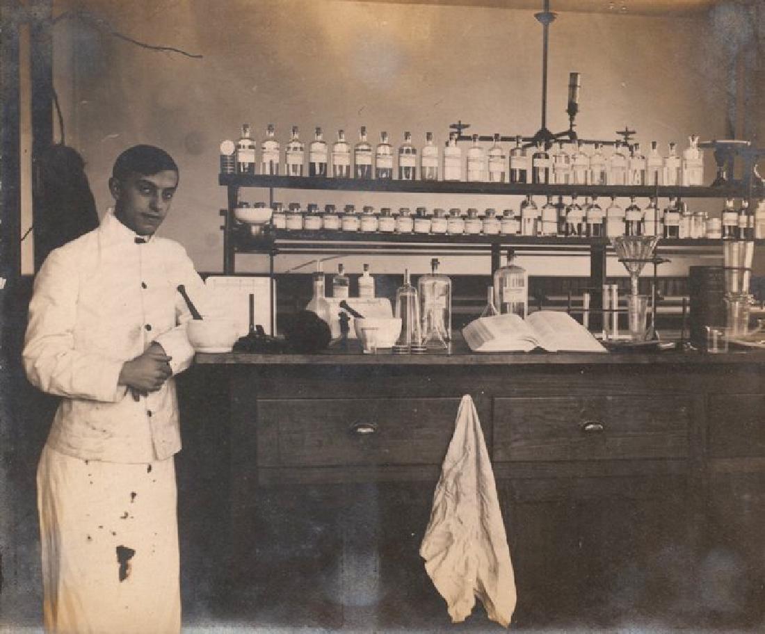 Chemistry Laboratory. c1910