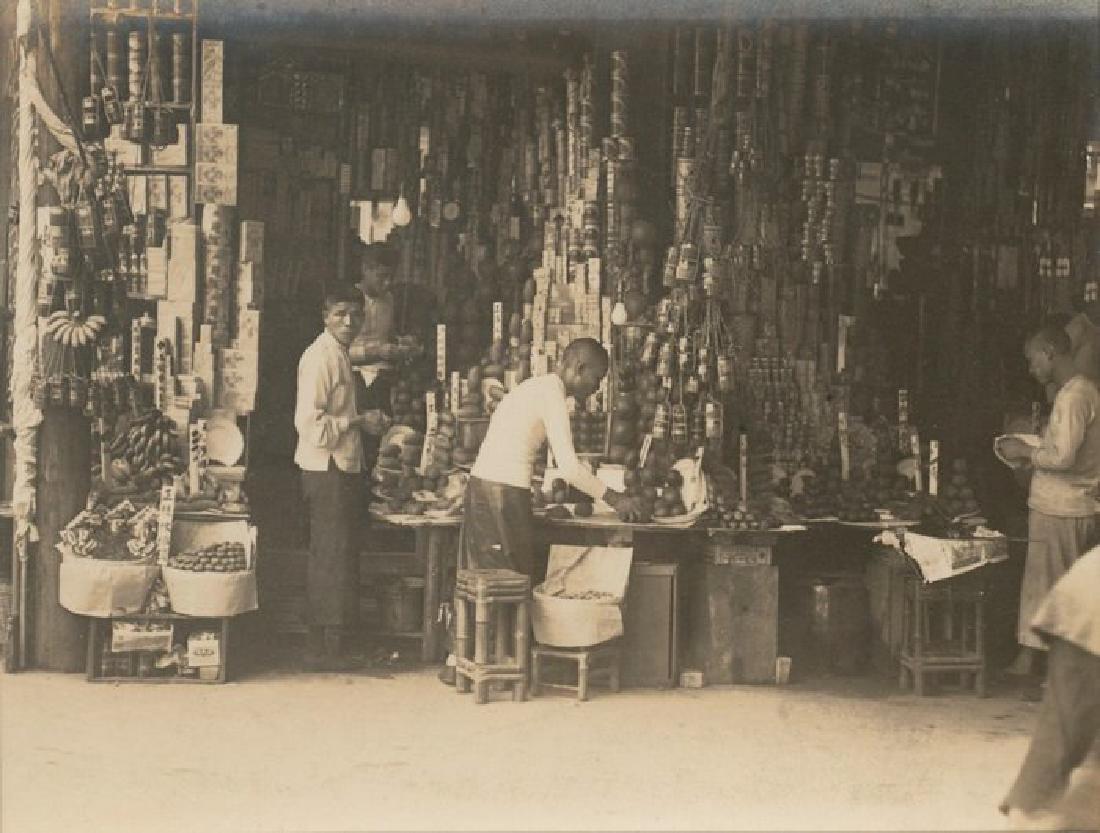 Food Store, China. c1925