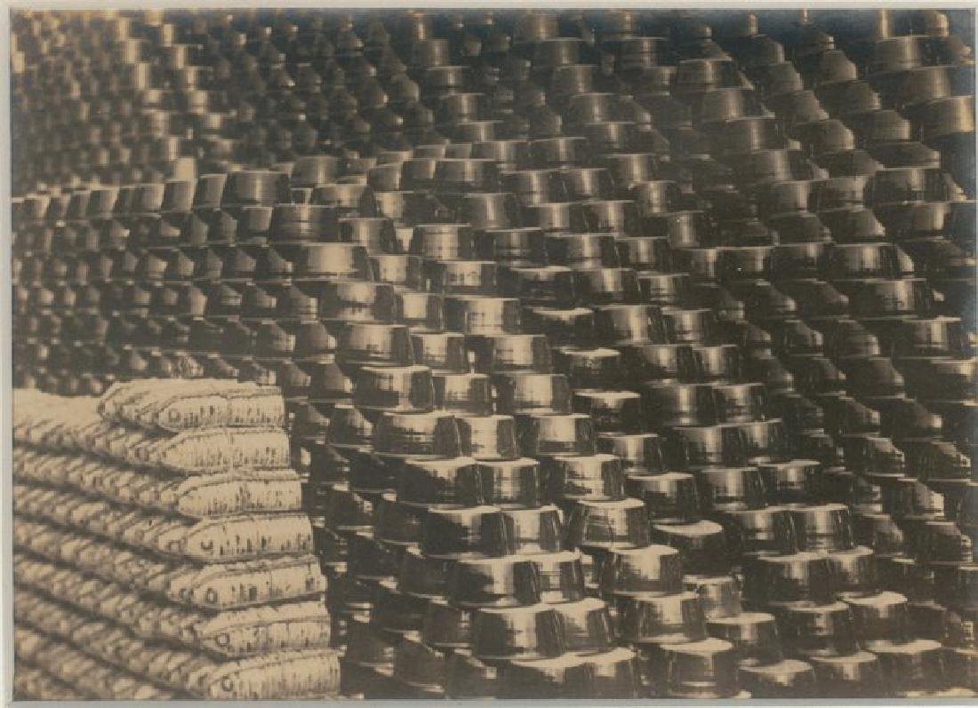 Drying Clay Pots in Chihli, China. c1932