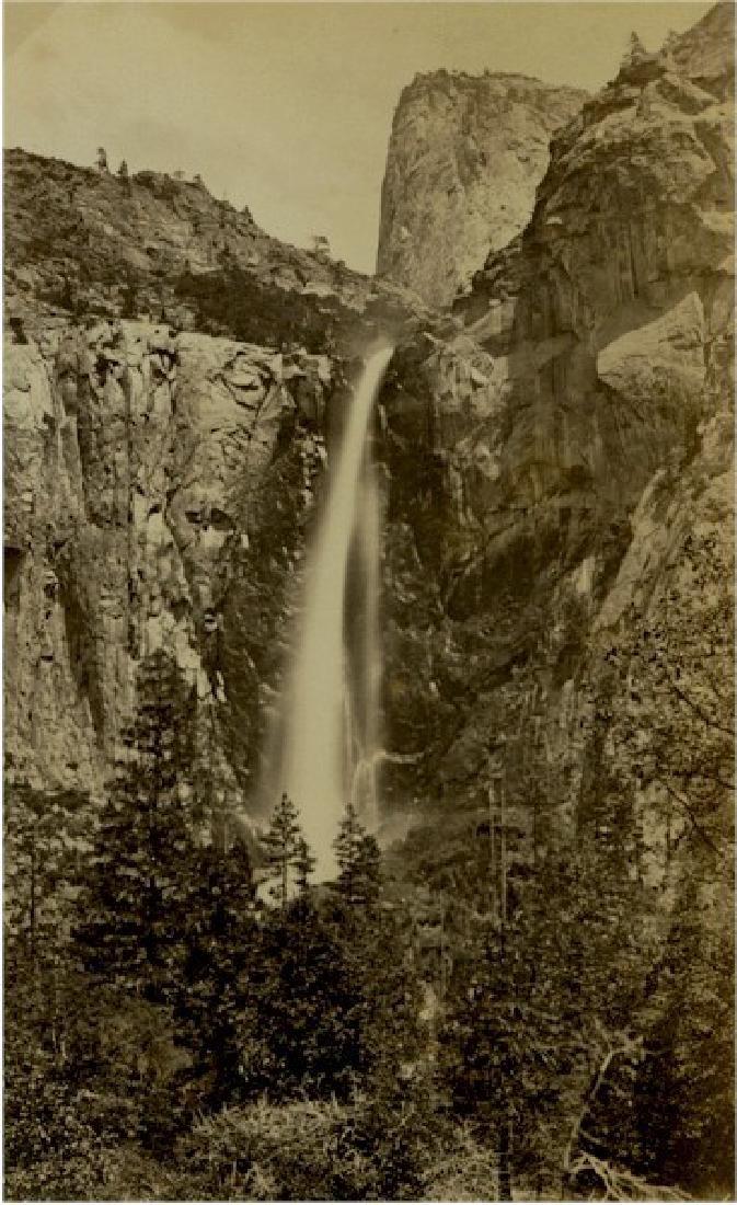 Bridal Veil Falls, Yosemite, California. c1880