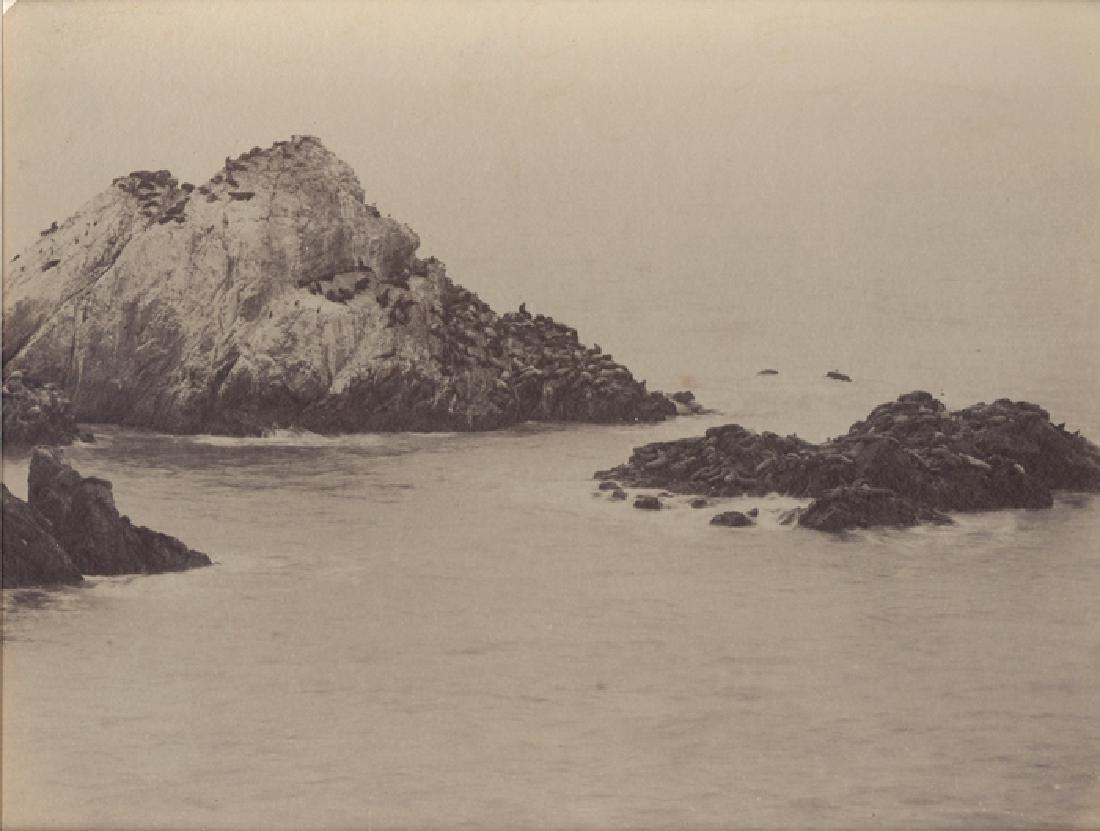 Seal Rock, Pacific Ocean, California. c1880