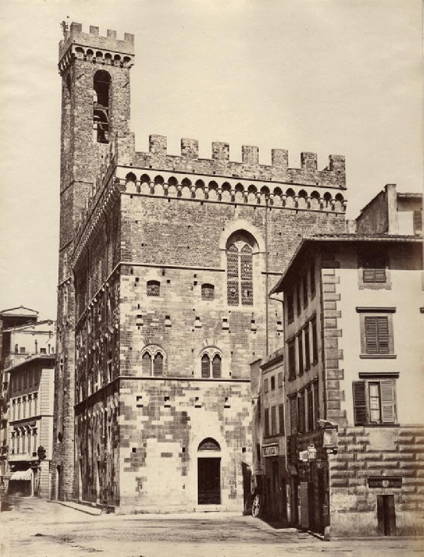 Florence, Palazzo del Podesta (Bargello). C1880