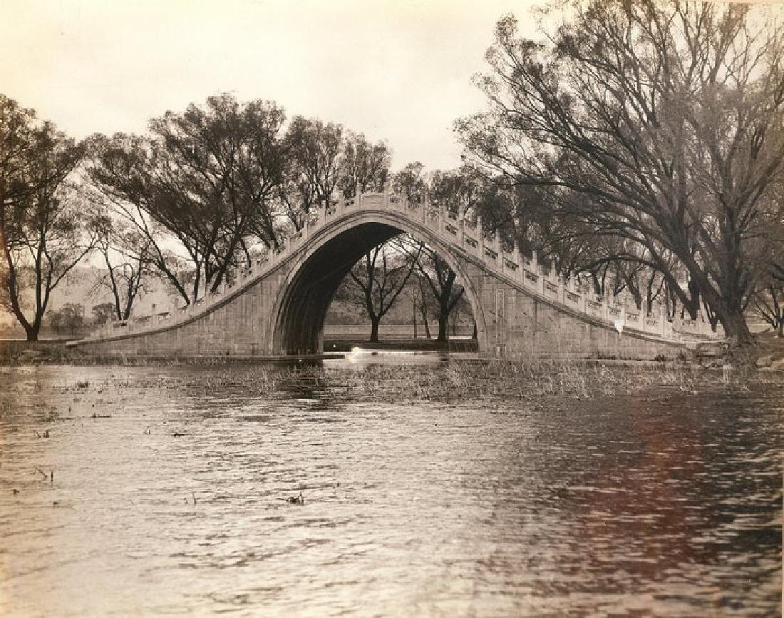 Camelback Bridge in the Summer Palace Grounds, Peking,