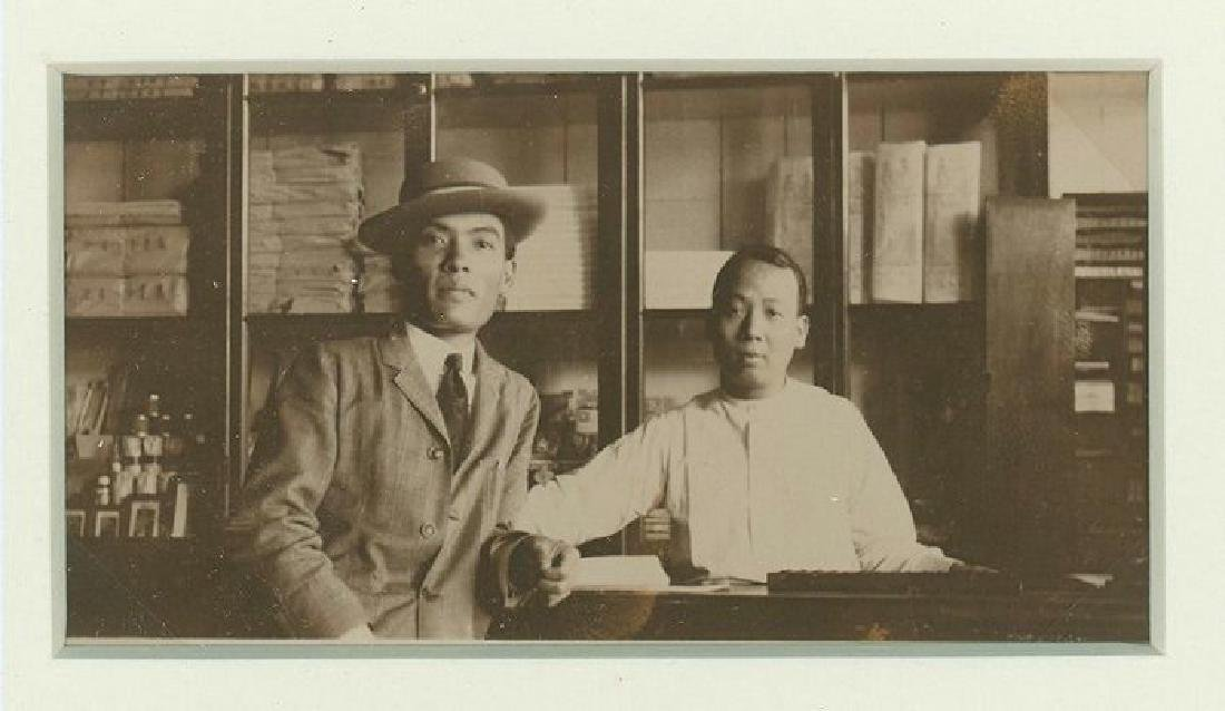 Chinese in Company Store, Hawaii. c1920