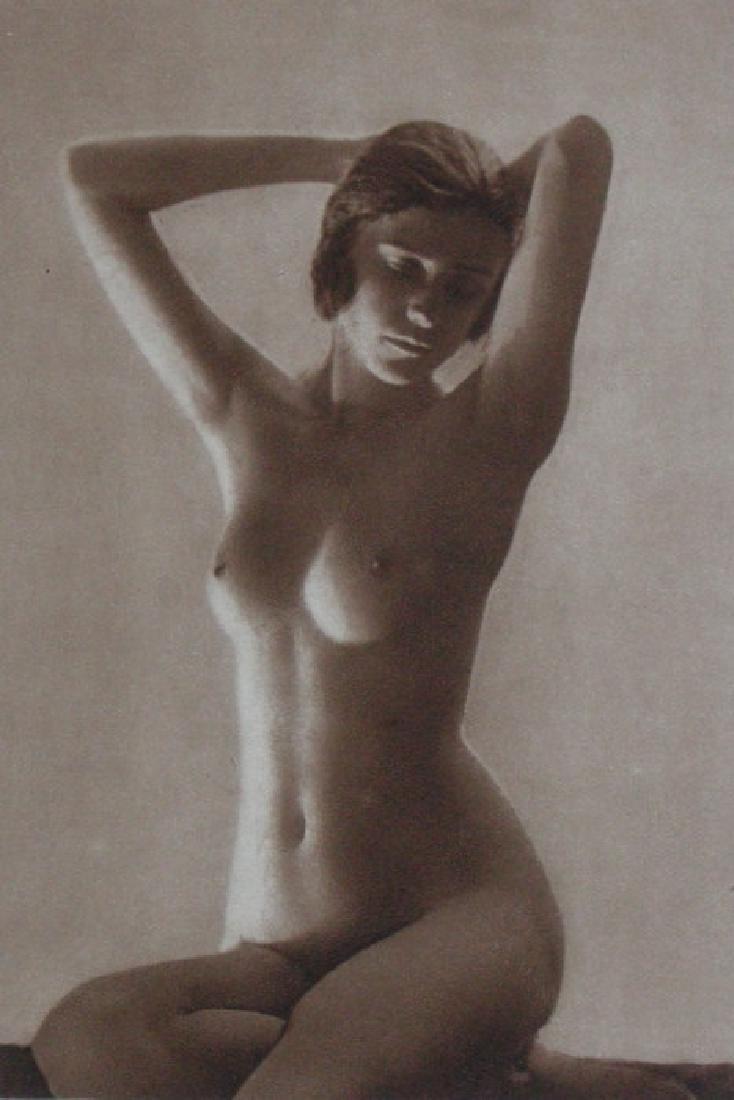 Saxony Nude by Fritz Reinhard, Leipzig
