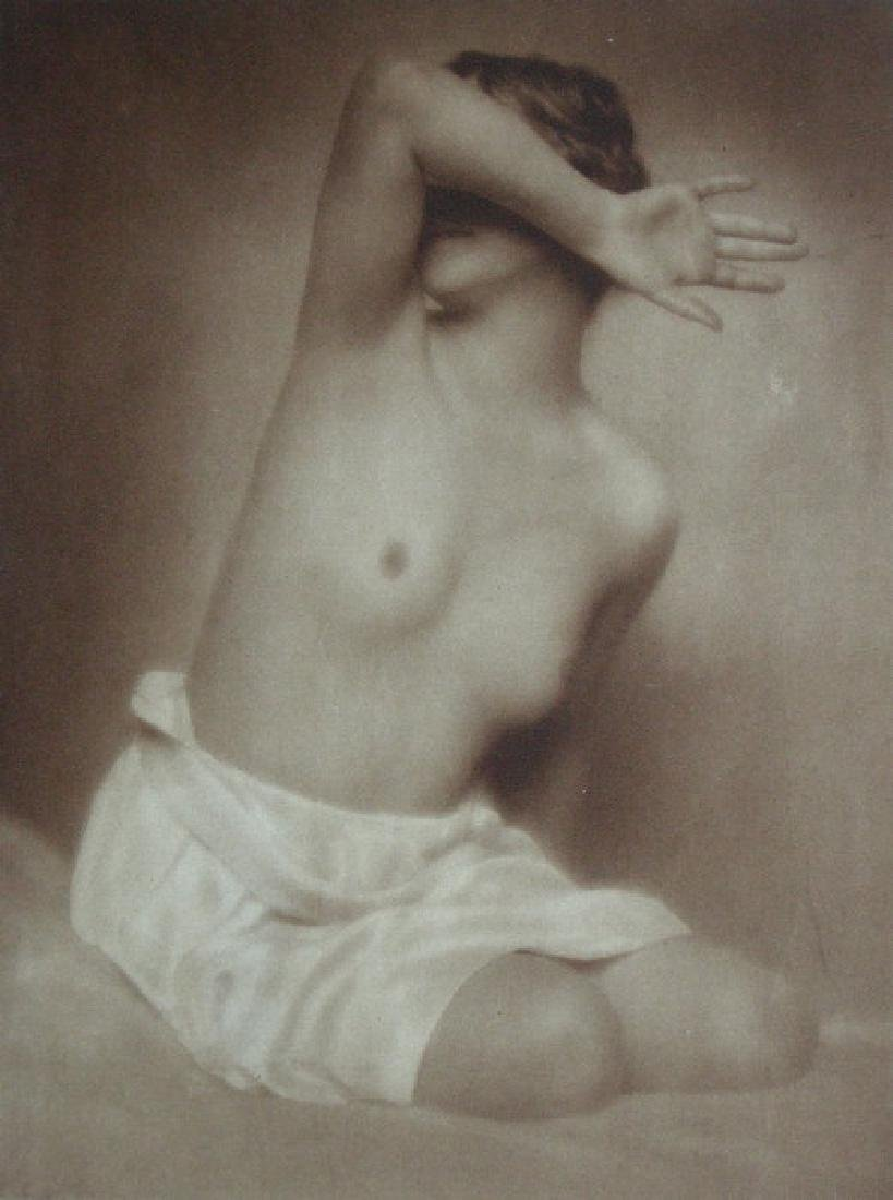 Swedish/German Mixed Blood Nude by Karl Schenker,