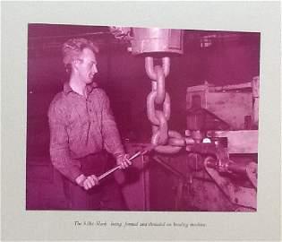 Album of British Steel Chain Co. c1960