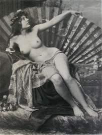 Nude by Otto Schmidt, Vienna. C1907