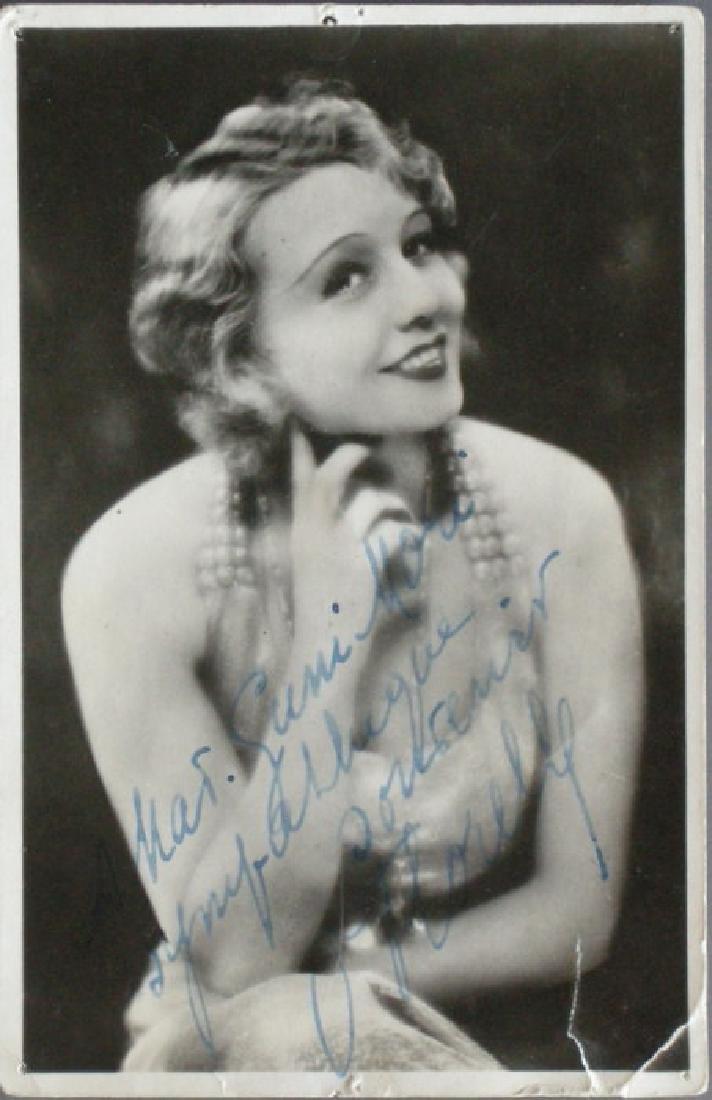 Autographed Photograph. c1920