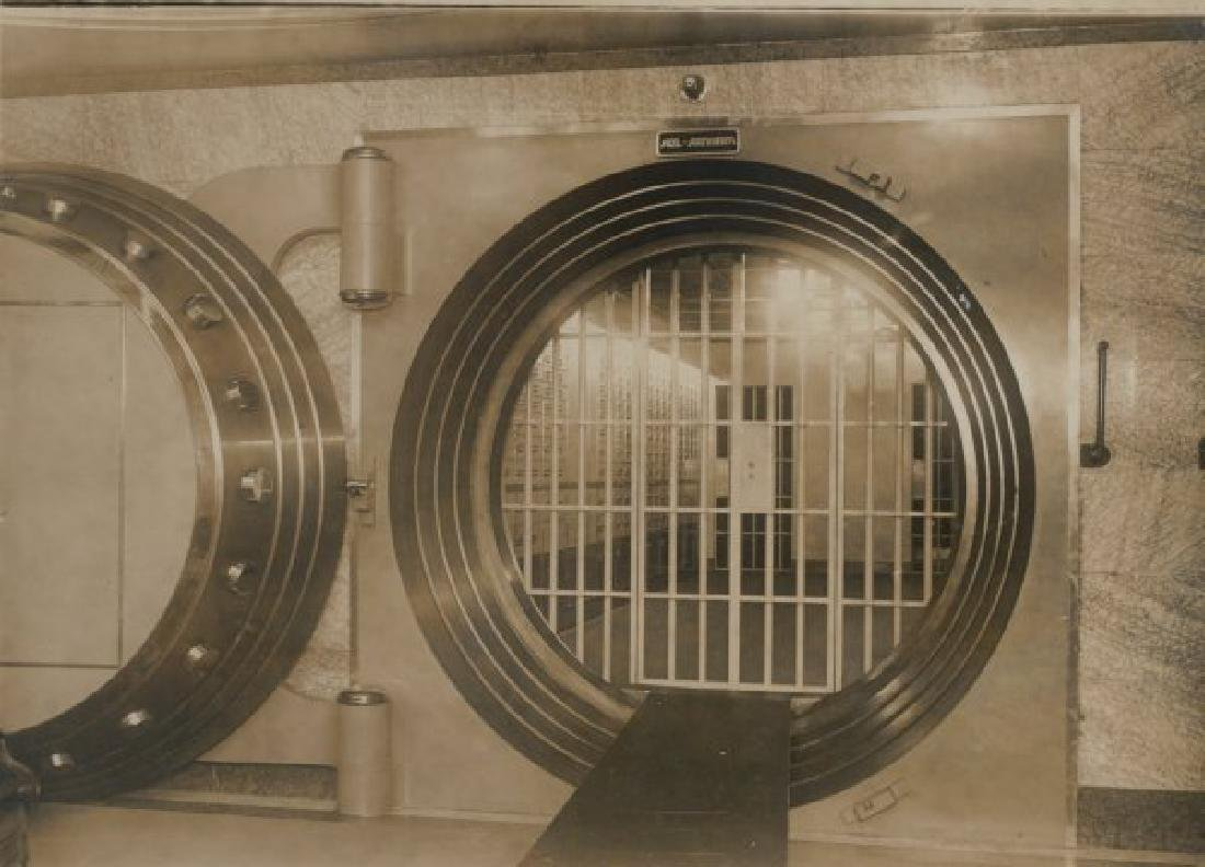 Bank Vault Door, Berliner Bank. C1950