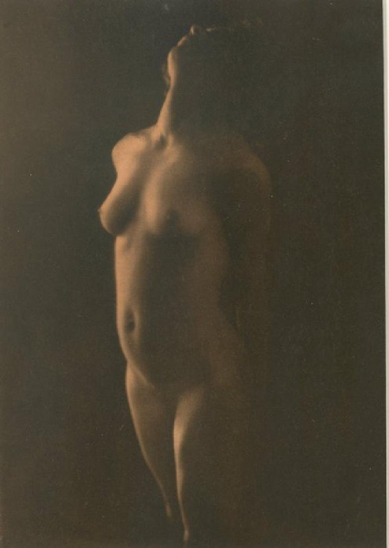 Lumiere,  hand signed nude gravure